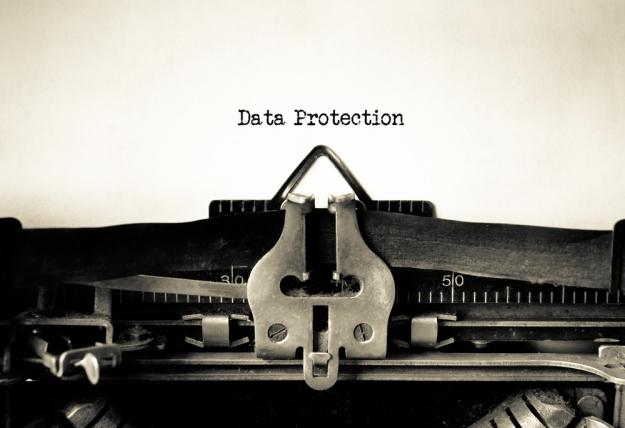 data-protection-type-writer